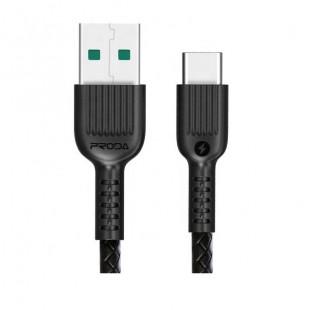 کابل تبدیل USB به Type-c پرودا مدل PD-B19 طول 1 متر