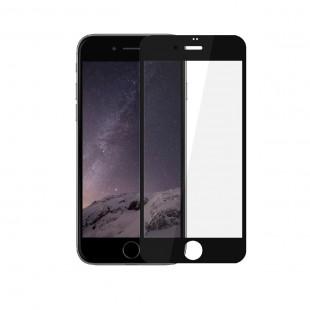 محافظ صفحه نمایش تمام چسب شیشه ای مدل 3D مناسب برای گوشی اپل iPhone 8 Plus
