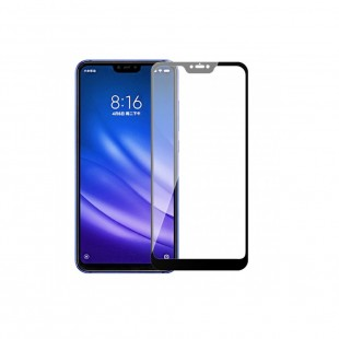 محافظ صفحه نمایش تمام چسب شیشه ای مدل 3D مناسب برای گوشی شیائومی Mi 8 Lite