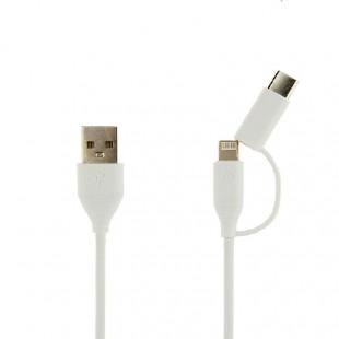 کابل تبدیل USB به لایتنینگ،USB-C توتو مدل LI11 طول 0.25متر