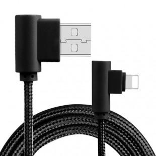 کابل لایتنینگ Rock Dual-End L-Shaped Lightning Data Cable RCB0519