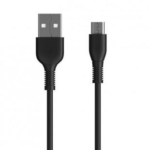 کابل تبدیل USB به Micro دبلیو کی مدل WDC-042m طول 1 متر