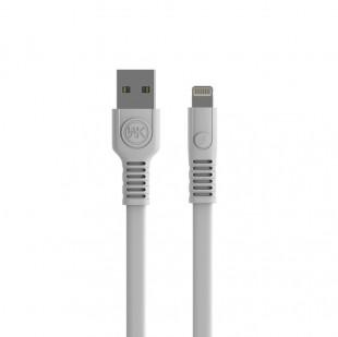 کابل تبدیل USB به Ligthning دبلیو کی مدل WDC-066 طول 1 متر