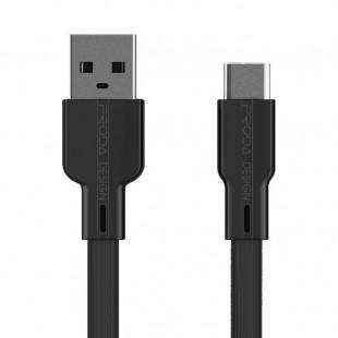 کابل تبدیل USB به USB-C پرودا مدل PD-B18a طول 1 متر