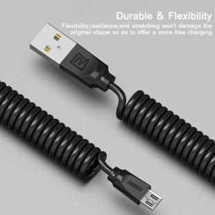 کابل تبدیل USB به MircroUSB ریمکس مدل RC-117m طول 1 متر