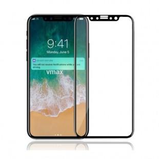 محافظ صفحه نمایش مدل 3D FullGlue مناسب برای گوشی موبایل اپل iPhone X/XS