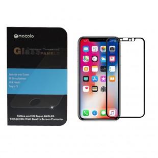 محافظ صفحه موکولو مدل Colour مناسب برای گوشی موبای اپل X/XS
