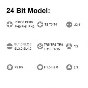 پیچ گوشتی ۲۴ عددی شیائومی مدل Wiha نسخه گلوبال