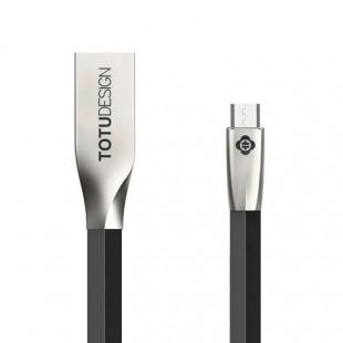 کابل تبدیل USB به MicroUSB توتو مدل ZINC ALLOY LI005 طول 2متر