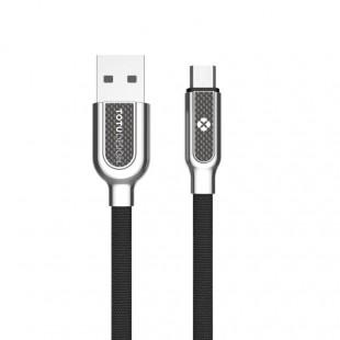 کابل تبدیل USB به MicroUSB توتو مدل Han Series LI37 طول 1 متر