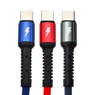 کابل تبدیل USB-C به USB-C الدینیو مدل LC91 طول 1 متر