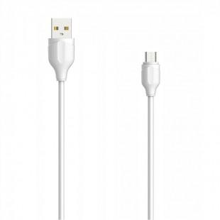 کابل تبدیل USB به MicroUSB الدینیو مدل LS372 طول 2 متر