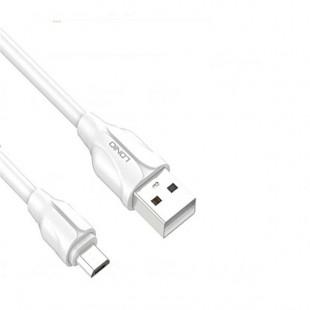 کابل تبدیل USB به MicroUSB الدینیو مدل LS361 طول 1 متر