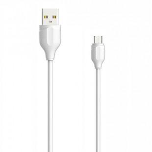 کابل تبدیل USB به MicroUSB الدینیو مدل LS38 طول 0.3 متر