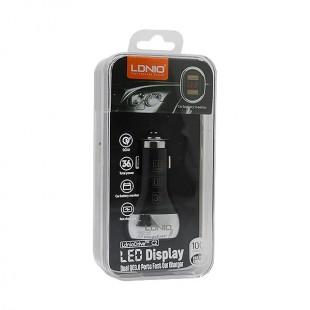 شارژر فندکی الدینیو مدل C2 به همراه کابل USB-C