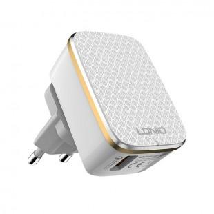 شارژر دیواری الدینیو مدل A1204Q به همراه کابل USB-C