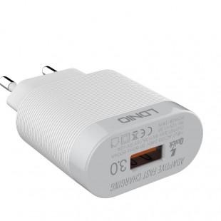 شارژر دیواری الدینیو مدل A303 به همراه کابل USB-C