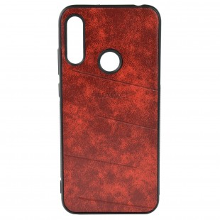 کاور مدل Leather مناسب برای گوشی موبایل هوآوی Y6 Prime 2019
