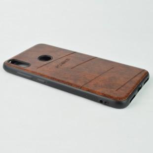 کاور مدل Leather مناسب برای گوشی موبایل هوآوی Y7 Prime 2019