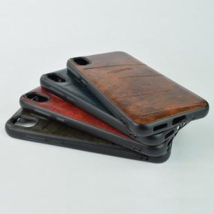 کاور مدل Leather مناسب برای گوشی موبایل هوآوی Y5 2019