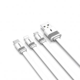 کابل تبدیل USB به USB-C پرودا مدل PD-B17a طول 1 متر