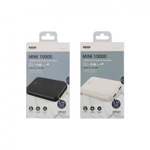 پاور بانک دبلیو کی مدل WP-067 Mini ظرفیت 10000 میلی آمپر ساعت