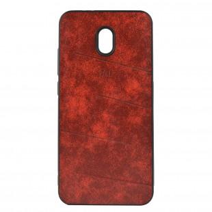 کاور مدل Leather مناسب برای گوشی موبایل شیائومی Redmi 8A
