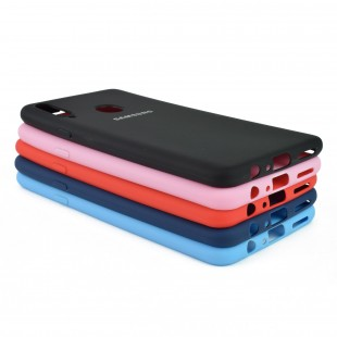 کاور مدل Silicon مناسب برای گوشی موبایل سامسونگ Galaxy A20s