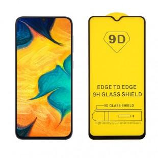 محافظ صفحه نمایش مدل 9D Pro مناسب برای گوشی سامسونگ Galaxy A70S به همراه بسته بندی