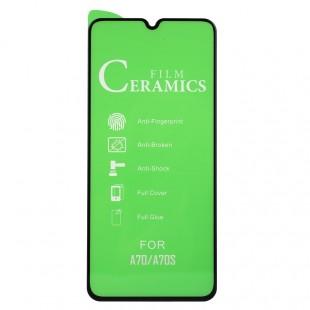 محافظ صفحه نمایش مدل Ceramic 9D مناسب برای گوشی سامسونگ Galaxy A70S