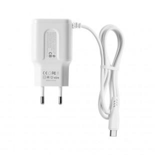 شارژر دیواری ریمکس مدل RP-U22 Pro با کابل متصل USB-C