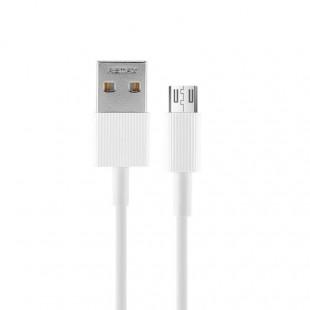 کابل تبدیل USB به MicroUSB ریمکس مدل RC-120m New طول 1 متر