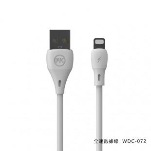 کابل تبدیل USB به لایتنینگ دبلیو کی مدل WDC-070i طول 1 متر