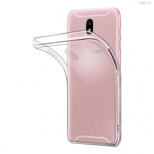 کاور مدل Clear jelly مناسب برای گوشی موبایل سامسونگ Galaxy J7 Pro 2017
