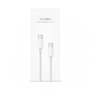 کابل تبدیل USB-C به USB-C زد ام آی مدل AL301 طول 150 سانتی متر