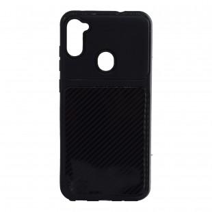 کاور مدل AutoFocus-Carbon مناسب برای گوشی موبایل سامسونگ Galaxy A01