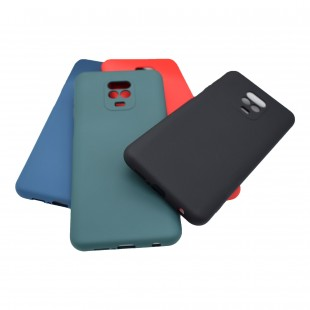 کاور سیلیکون مدل Silicon Org مناسب برای گوشی موبایل شیائومی Redmi Note 9s