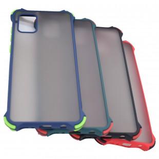 کاور مدل Matte AntiShock مناسب برای گوشی موبایل سامسونگ Galaxy A21s