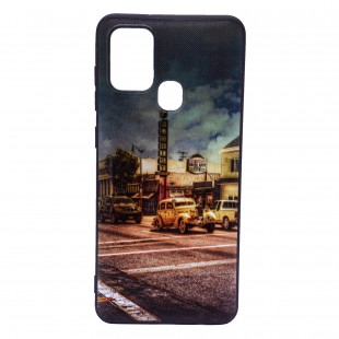 کاور مدل Painted P12 مناسب برای گوشی موبایل سامسونگ Galaxy A21s