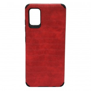 کاور مدل Leather AntiShock مناسب برای گوشی موبایل سامسونگ Galaxy A10s