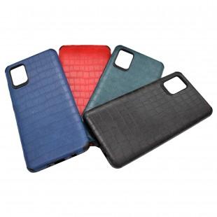 کاور مدل Leather AntiShock مناسب برای گوشی موبایل سامسونگ Galaxy A31