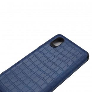 کاور مدل Leather AntiShock مناسب برای گوشی موبایل سامسونگ Galaxy A01 Core