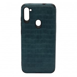 کاور مدل Leather AntiShock مناسب برای گوشی موبایل سامسونگ Galaxy A01