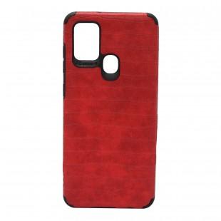 کاور مدل Leather AntiShock موبایل سامسونگ Galaxy A21s