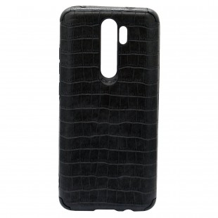 کاور مدل Leather AntiShock مناسب برای گوشی موبایل سامسونگ Galaxy A21s