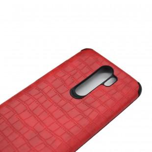 کاور مدل Leather AntiShock مناسب برای گوشی موبایل شیائومی Redmi Note 8 Pro
