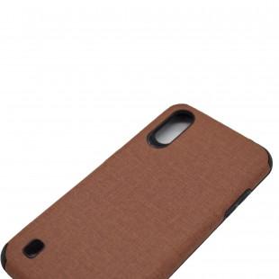 کاور مدل Leather AntiShock موبایل سامسونگ Galaxy A01