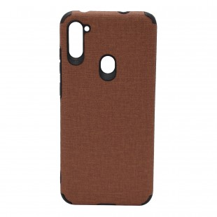 کاور مدل Cloth AntiShock موبایل سامسونگ Galaxy A01