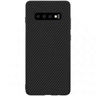 بک کاور نیلکین Samsung Galaxy S10 plus Nilkin Synthetic Fiber case
