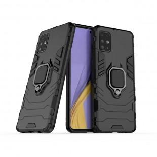 کاور مدل Defender Ring مناسب برای گوشی موبایل سامسونگ Galaxy A20S